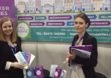 Landlord and Letting Show exhibition stand